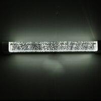 modern Brief Waterproof Bubble crystal Wall Led Mirror Light