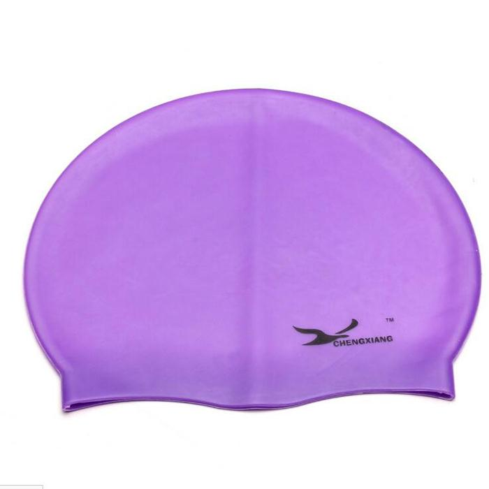 New Swimming Cap Unisex Waterproof Silica Outdoor Sport Swim hat Useful Ordinary Swimming Pool Accessories