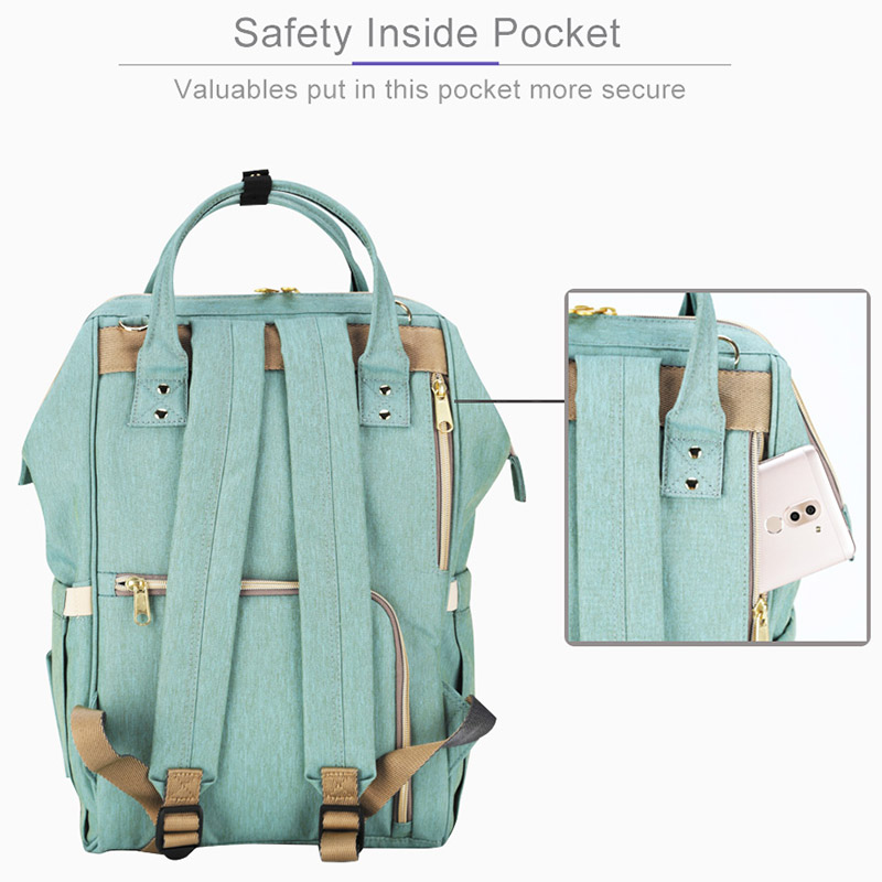 Sunveno marca impermeable bolsa de gran maternidad enfermería bolsa de viaje mochila para bebé mamá cochecito de bebé - 4