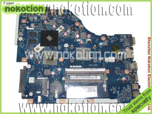 NOKOTION laptop motherboard for Toshiba A200 V000108110 Intel integrated DDR2 Mainboard Full Tested for msi ms 10371 intel laptop motherboard mainboard fully tested works well