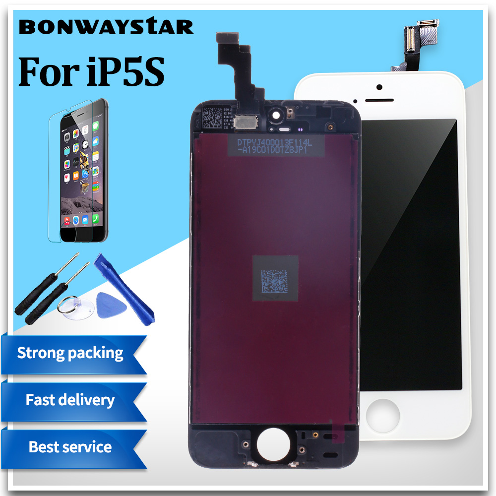 AAA+++ Quality screen For iPhone 5S 5 5C SE LCD Screen for iPhone 6 Display Digitizer Touch Screen with Gifts Tools+Glass filmAAA+++ Quality screen For iPhone 5S 5 5C SE LCD Screen for iPhone 6 Display Digitizer Touch Screen with Gifts Tools+Glass film