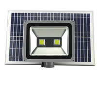 Newest 100W solar sensing light motion deteced light solar pir security floodlight led security solar