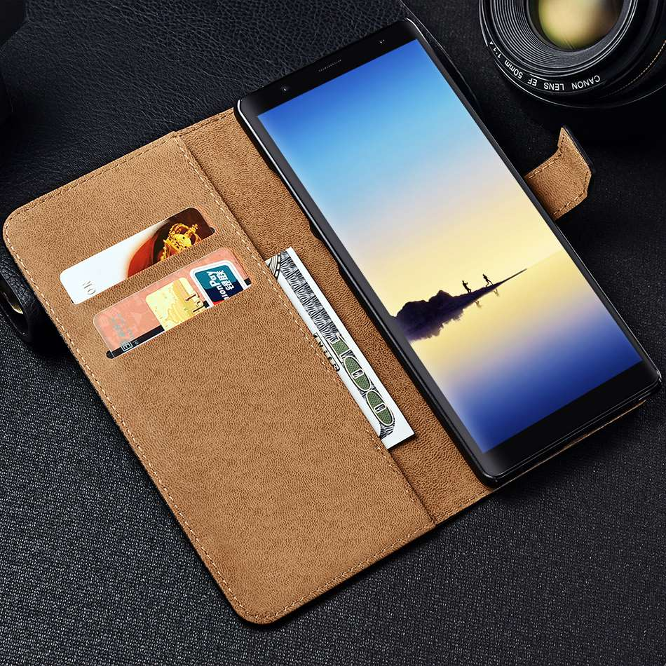 TOMKAS Vintage Wallet Case for Samsung Note 8 Luxury PU Leather Flip Style With Stand Phone Cover Case for Samsung Galaxy Note 8 (9)