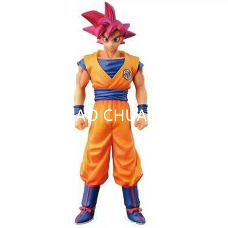 Dragon Ball Red Hair Son Goku Palgantong Anime A Martial Arts World PVC Action Figure Collection Model Toy G137