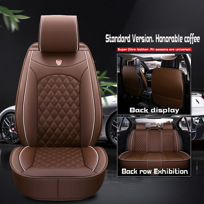 pu leather car <font><b>seat</b></font> <font><b>covers</b></font> for For <font><b>Honda</b></font> <font><b>accord</b></font> 2003 <font><b>2007</b></font> 2019 city jazz crv civic stream image