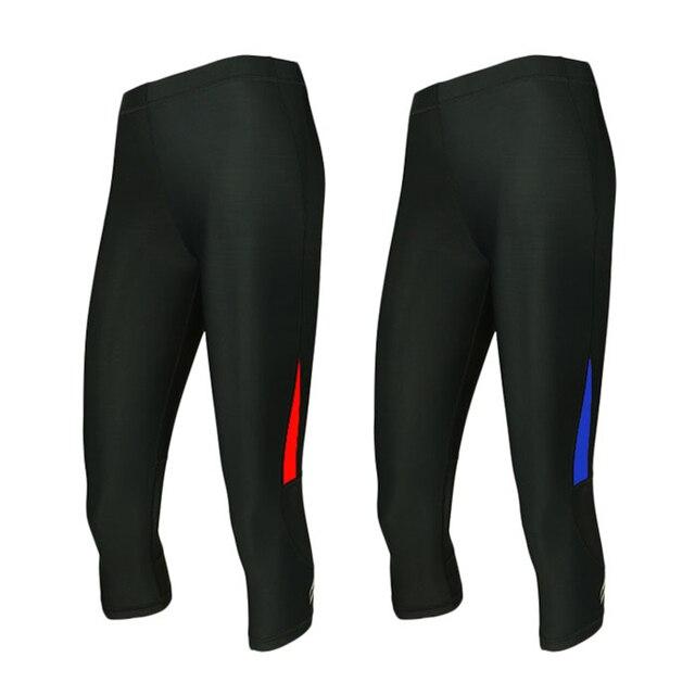 2016 arsuxeo compressão collants mulheres shorts de corrida esportes  leggings 3 4 longo apertado yoga ee20ca8b00bc4