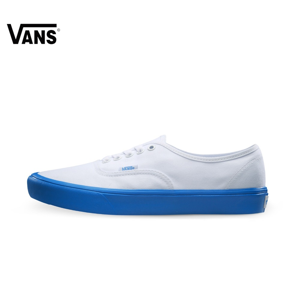 Original Vans Men's and Women's Low Top Unisex Light Weight Skateboarding Shoes Canvas Shoes Sneakers tweak unisex canvas low top sneakers sport shoes white red pink blue yellow skateboarding shoes for men women 2017 lace up