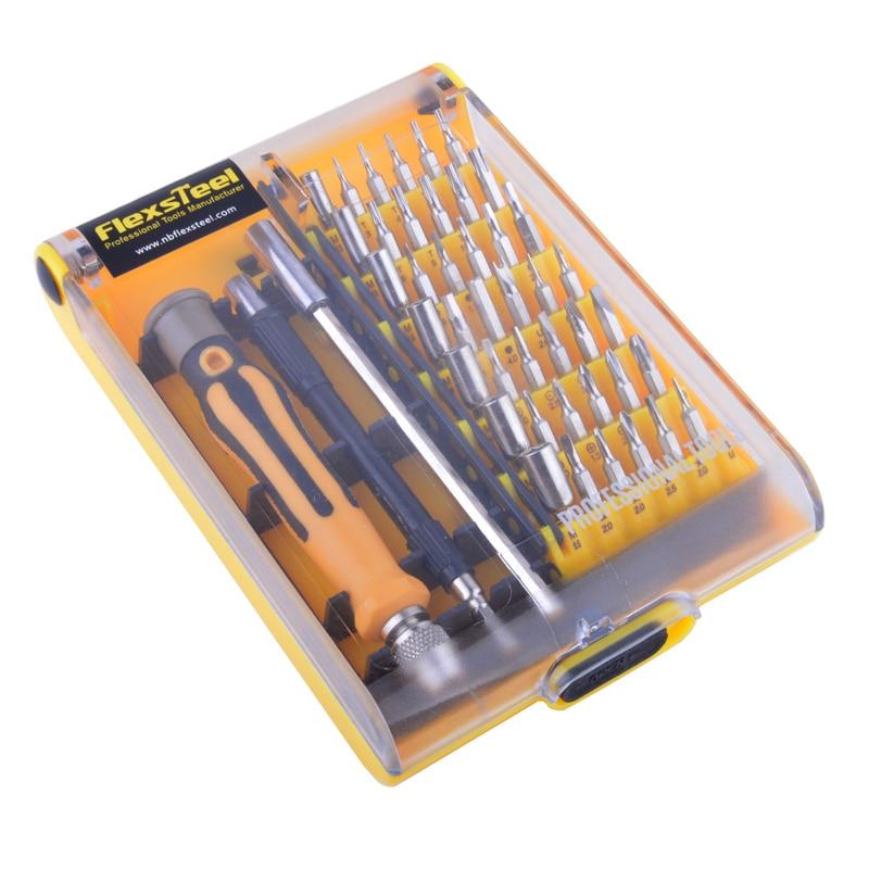 Flexsteel Precision 45 in 1 set di cacciaviti Set di mini cacciaviti - Utensili manuali - Fotografia 2
