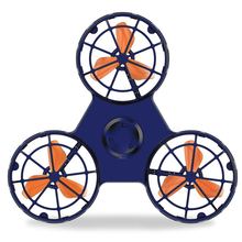2019 New Decompression Toy of The New Flying Gyro Flying Fidget Spinner  Hobbies for Adults  Children Educational Gyro Toys hot pressure relief toys mini fidget spinner rechargeable automatic rotating flying gyro flying spinner for adults and child