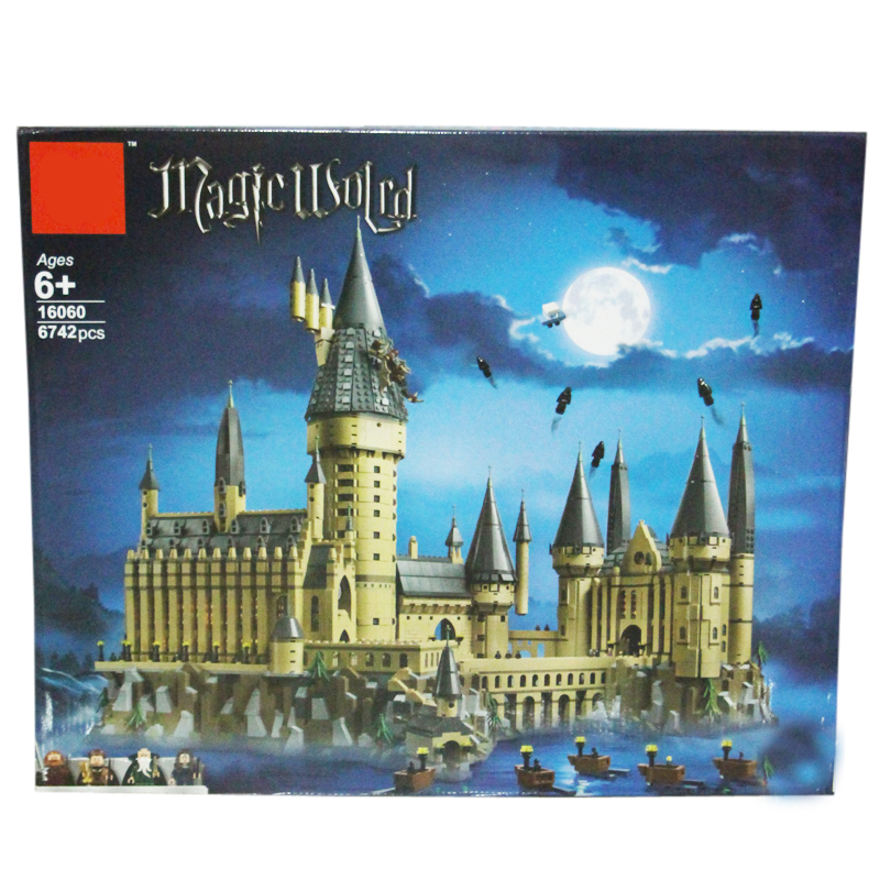 Movie Harry Big Size Potters The Hogwarts Castle Building Kit Blocks Toys for Children Compatible with Legoings Movie Harry Big Size Potters The Hogwarts Castle Building Kit Blocks Toys for Children Compatible with Legoings