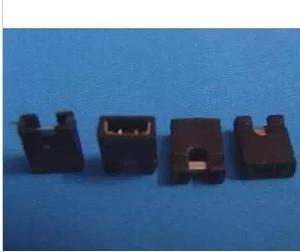 Image 1 - 送料無料100ピース/ロット2.0ミリメートルピッチ単列ピンジャンパーキャップショートブロックブロック開口部