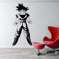 Dragonball Z Inspired Goku 3D Wall Sticker Vinyl Animated movie Cartoon home decor DIY wall decal for kids room