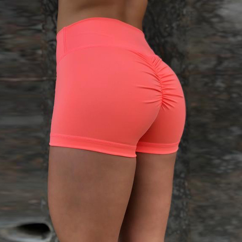2018 New Elastic Booty Shorts Sexy Slim Feminino Pantalones Mujer Fitness Women Sporting Runs Female Short Pants