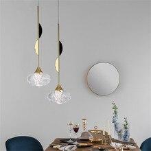 Modern Pendant Light for Dining Room Master Bedroom Nordic Design Hanging Lamp Loft Art Decor Fixtures