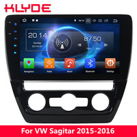 KLYDE 10.1 IPS 4G Android 8.0 7.1 6 Octa Core 4GB RAM 32GB ROM Car DVD Player Radio Stereo For Volkswagen VW Sagitar 2015 2016
