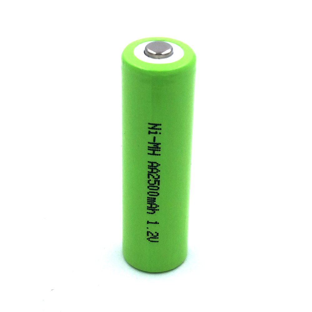 AA 2500mAh 10pieces Rechargeable batteries NI-MN Battery Tip the battery Camera toy clock flashlight Remote control