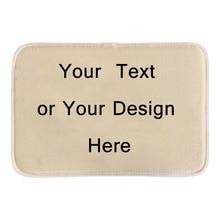 Custom Door Mats Print Your Text Or Design Personalize Decorative Door Mats For Bathroom Livingroom