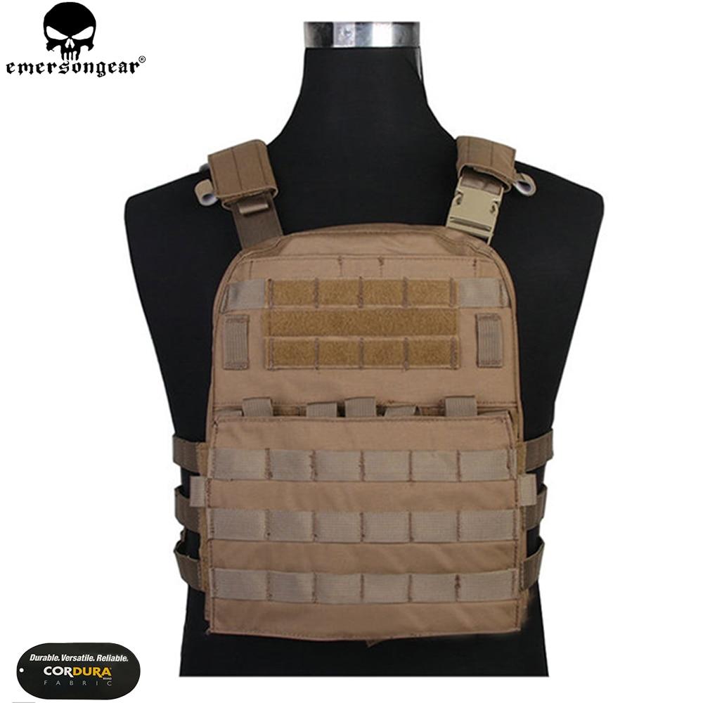 EMERSONGEAR CP Style Lightweight AVS Vest Airsoft Combat Paintball Hunting Molle Plate Carrier Vest Multicam Black Vest EM7398