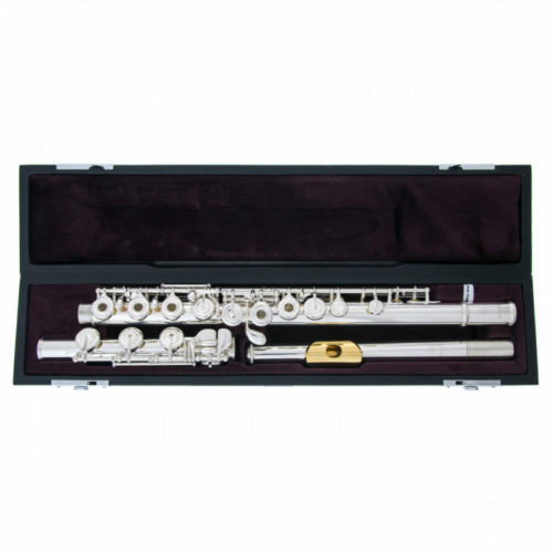 Marque Nouveau C Tone Métal Flûte YFL 372 H Cupronickel Tube Ruban Plaqué Surface Avec la Touche E Split Instrument Avec cas