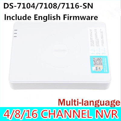 ФОТО 4CH 8CH 16ch NVR 4 8 16 ch Channel for 1080P ip camera cctv recorder ds-7104n-sn ds-7108n-sn ds-7116n-sn ds-7104n ds-7104 ds sn