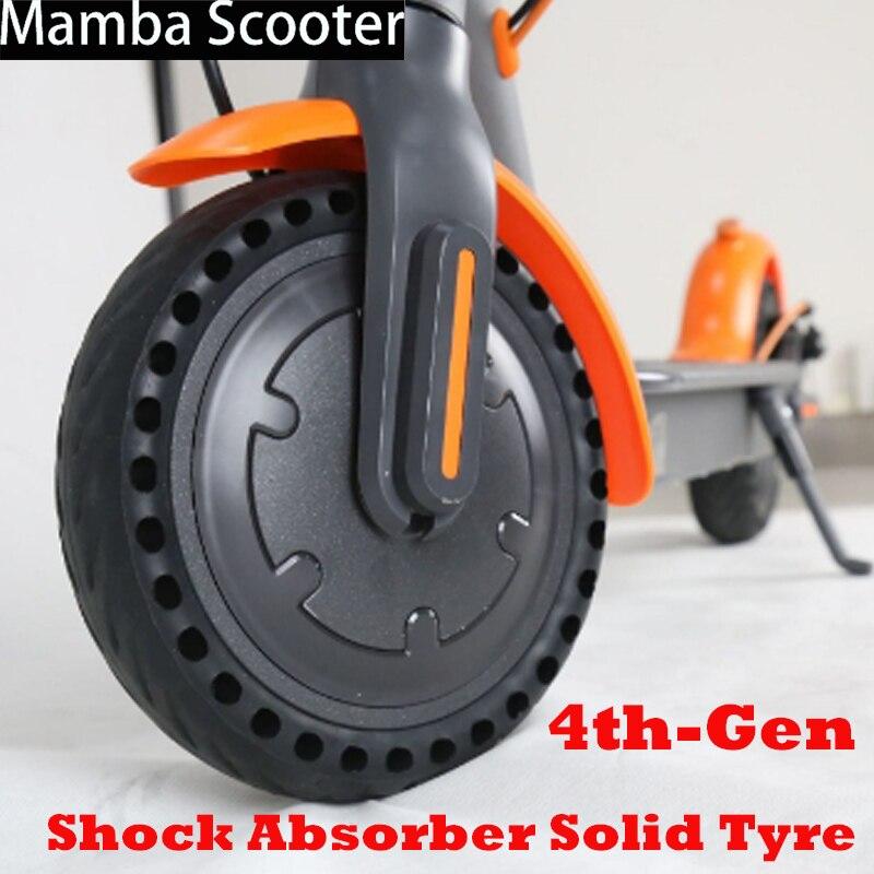 Xiaomi Mijia M365 Elektrische Roller Skateboard Hohl Nicht-Pneumatische Vorne Hinten Reifen Verstärken Rippe Poröse Dämpfung Solide Reifen