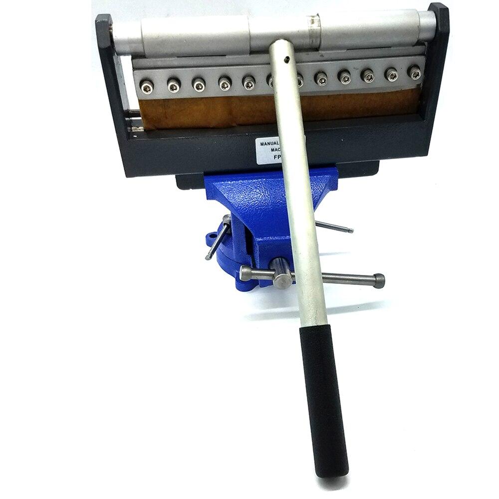 Manual Bending Machine Work for Aluminum Sheet Steel Galvanized Steel Plate Bending Machine Tool(Clamp not Included)