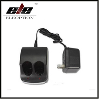ELEOPTION 3 6 Volt For BLACK DECKER Dual Port Battery Charger For VP100 VP110 VP100 VP110