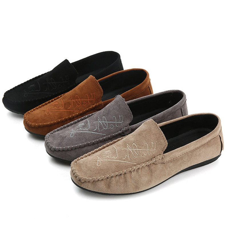 Unisex Brand New Fashion Men Loafers Men Leather Casual Shoes High Quality Adult Moccasins Men Driving Shoes Male Footwear 2019