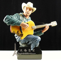Crafts Arts Home decoration Bar model decorations of American music art instruments guitar ornaments