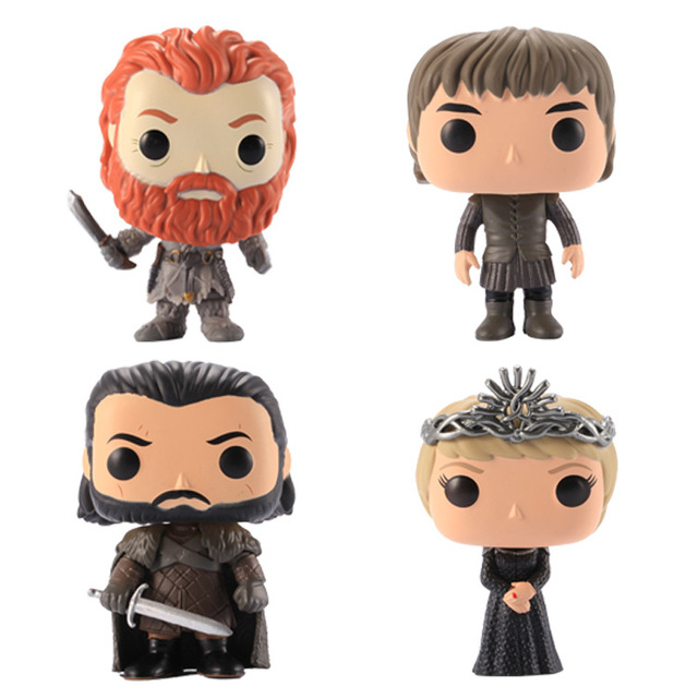 Funko pop Song Of Ice And Fire Game Of Thrones Characters Vinyl Action & Toy Figures Collectible Model Toy for Children 5