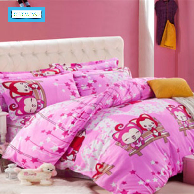 BEST.WENSD Fashion Reactive Print 4 Pcs bedding Sets Luxury Include Duvet Cover & Bed sheet & Pillowcase Housse De CouetteBEST.WENSD Fashion Reactive Print 4 Pcs bedding Sets Luxury Include Duvet Cover & Bed sheet & Pillowcase Housse De Couette