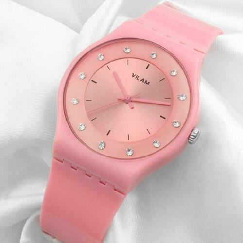 купить VILAM Diamonds 2018 Ladies Watch Women Watches Brand Luxury Famous Female Clock Quartz Watch Wrist Montre Femme Relogio Feminino по цене 517.39 рублей