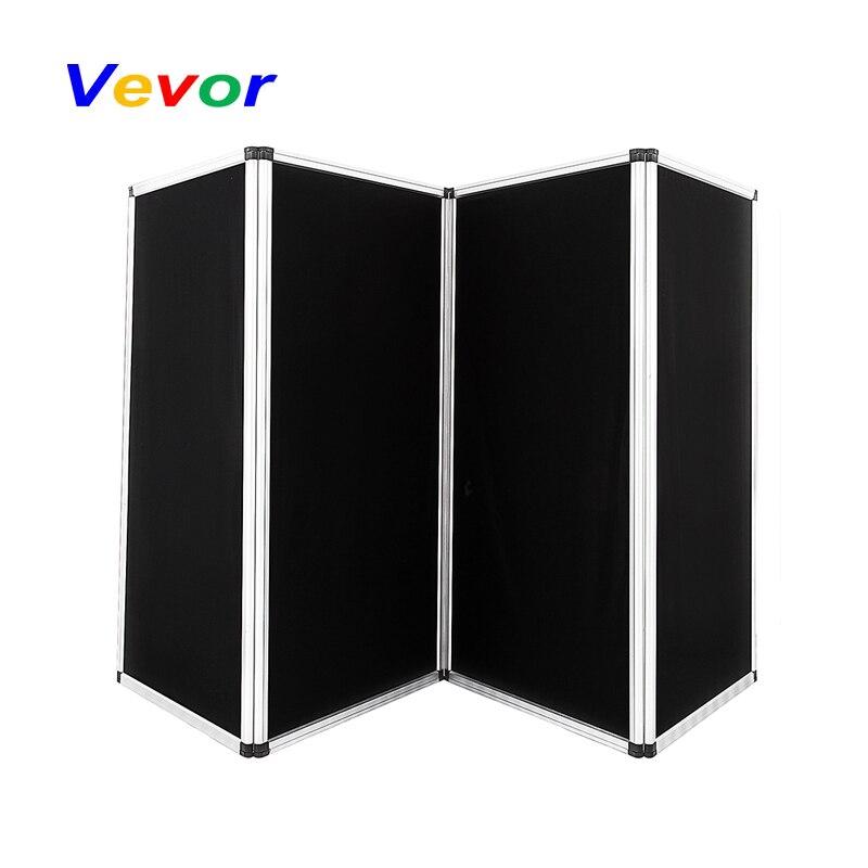 VEVOR écrans rétractable salon affichage 4 panneaux panneau d'affichage 110x47 pouces en alliage d'aluminium cadres séparateurs de pièce pliants