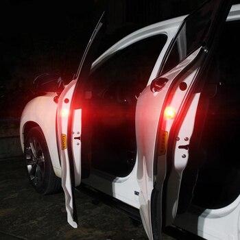 2x migająca lampka ostrzegawcza led światła drzwi samochodu dla Toyota Corolla RAV4 Camry Prado Avensis Yaris Auris Hilux Prius Land Cruiser