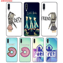 Transparent Soft Cover Best Friend BFF for Samsung Galaxy