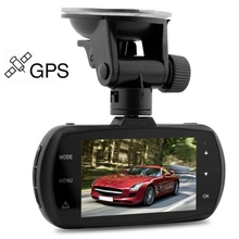 Car DVR Dome D201 2.7 inches LCD Ambarella A12 Super HD 1440P H.264 170 Degree View Angle Night Vision Car DVR with GPS Tracking