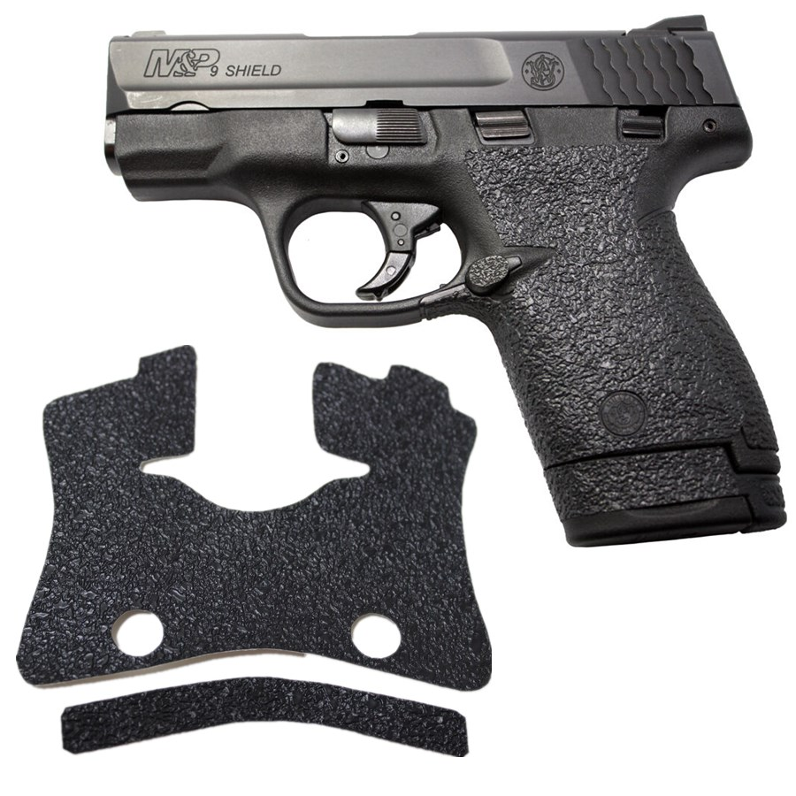 Non-slip Rubber Texture Grip Wrap Tape Glove Sleeve For Smith & Wesson M&P Shield 9mm .40 S&W Holster 9mm Magazine Accessories