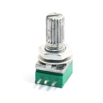 Tipo B 50K Ohm 5 terminales Top variable de ajuste potenciómetro Verde