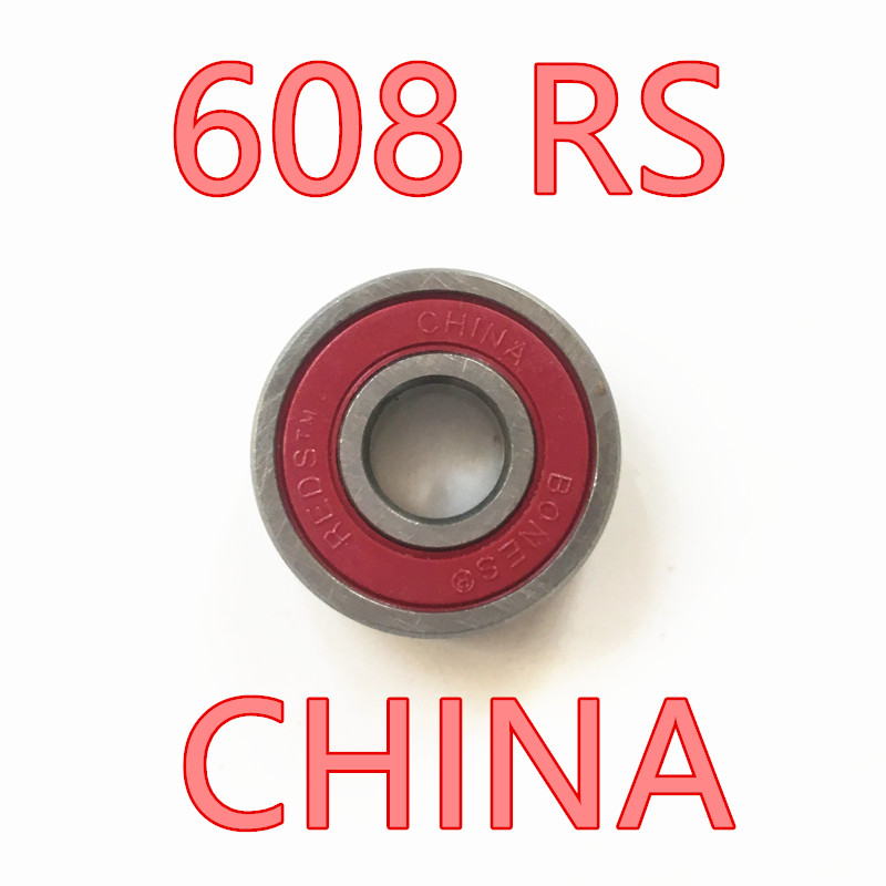 Rodamientos Thrust Bearing Red Free Shipping 608 Rs 8pcs/set Famous Brand 608rs Hoverboard Skate Shoes Bearing 2rs 8* 22*7mm все цены