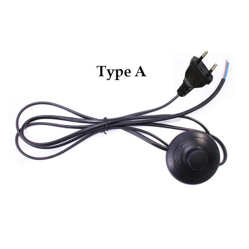 3.5 M power knop voetschakelaar power kabel spaarlamp netsnoer E27 E14 voeding line floor lamp