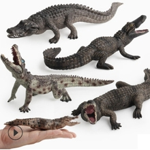 GEEK KING simulation Crocodile Toy Set Plastic Play Toys World Park Model Action Figures Kids Boy Gift Home Decor