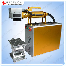 Mactron Brand  20W Fiber Portable Laser Marker Machine For Metal Sheet, Gold,Silver,Aluminium, Iphone Cover,Animal Ear Tag