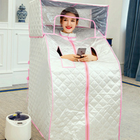 Portable Steam Sauna Room Slimming Therapy Household Sauna Box Steam Sauna Cabin steam shower machine to lose weight