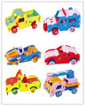 6 pieces/lot 2016 new Cool Handmade 3D EVA Car Puzzle Toy Children DIY Craft Kits Educational Toys 3-10 years