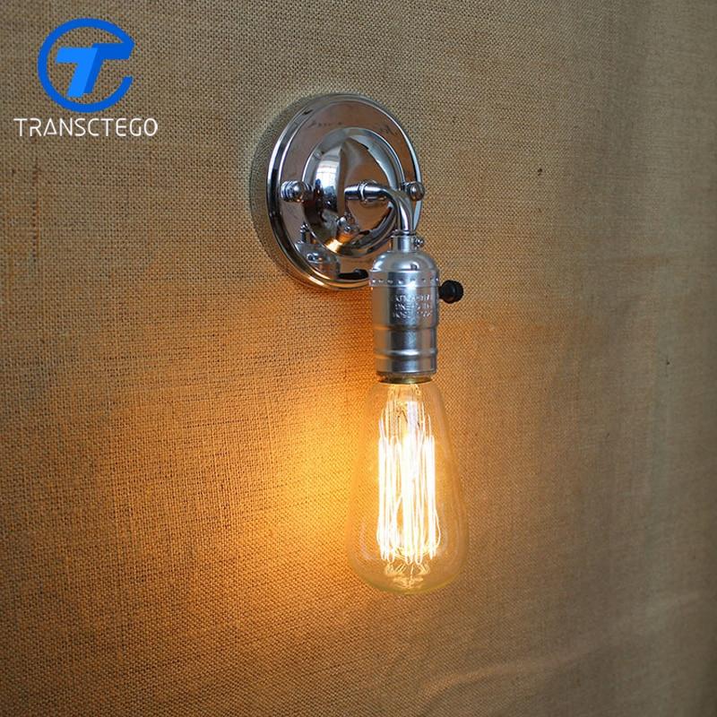 Hot Sale Edison Retro Wall lamp applique murale wall light apliques ...