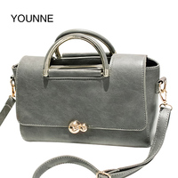 YOUNNE Famous Brand PU Leather Female Bag Fashion Women Messenger Bags High Quality Designer Women Bag