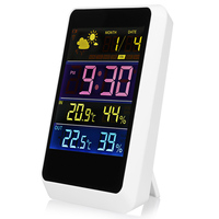 Original Wireless Weather Station Alarm Clock PM2 5 Thermometer Clock Air Quality Monitor Humidity Temperature Detector