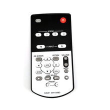 New Replace Remote Control RAV41 WY19980 For YAMAHA AV Receiver RX A2010 RX A2010BL