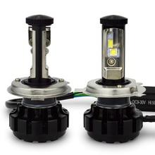 120 Вт 12000lm в шарик CR EE чип u2v18 LED Canbus Фары для авто H4 9003 Переделочные комплекты с вентилятором Turbo 3000 К 4300 К 6000 К 8000 К