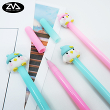 2pcs/lot Chick styling gel pen Stationery Candy Gel Ink aneta Styling Pens kawaii Student School Signature Pen